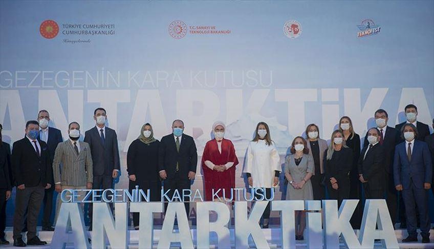 Turkey's Antarctica documentary debuts in Ankara https://t.co/43eb0LBxAi https://t.co/dlD1Ty7C0r