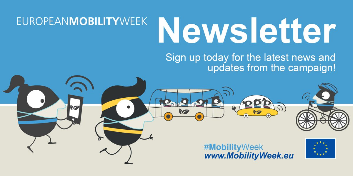 For all the latest #MobilityWeek news and updates, sign up to our #Newsletter https://t.co/uZXoDgB6Dr https://t.co/daT9KKESRm