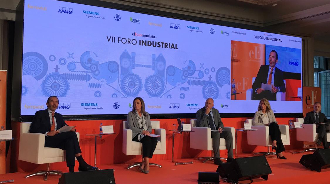 Queremos fábricas flexibles, inteligentes y sin hilos. El 5G es clave para esto -José Antonio López Muñoz, presidente de @Ericsson_es, en el #VIIForoIndustrialeE https://t.co/iRmEthERAO