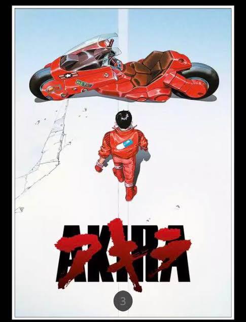 AKIRAといえば劇場版のポスターが有名だけど、公開終了後、原作の連載再開時の扉絵がそれと対になってた…というのは意外と知られてない…気がする( ˘ω˘ )