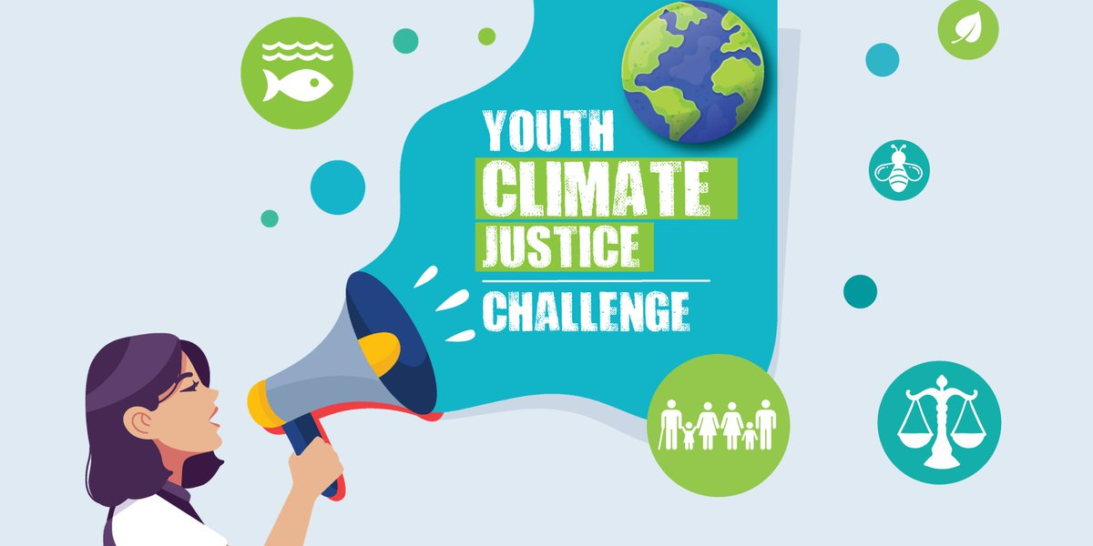 We are delighted to be launching the #YouthClimateJustice Challenge with 5 other youth orgs. Our goal is to engage, educate and empower young people to take action on climate justice! @ECOUNESCO @SpunOut @yifm @IrishGirlGuides @The_nonameclub https://t.co/3XqlH4ek03