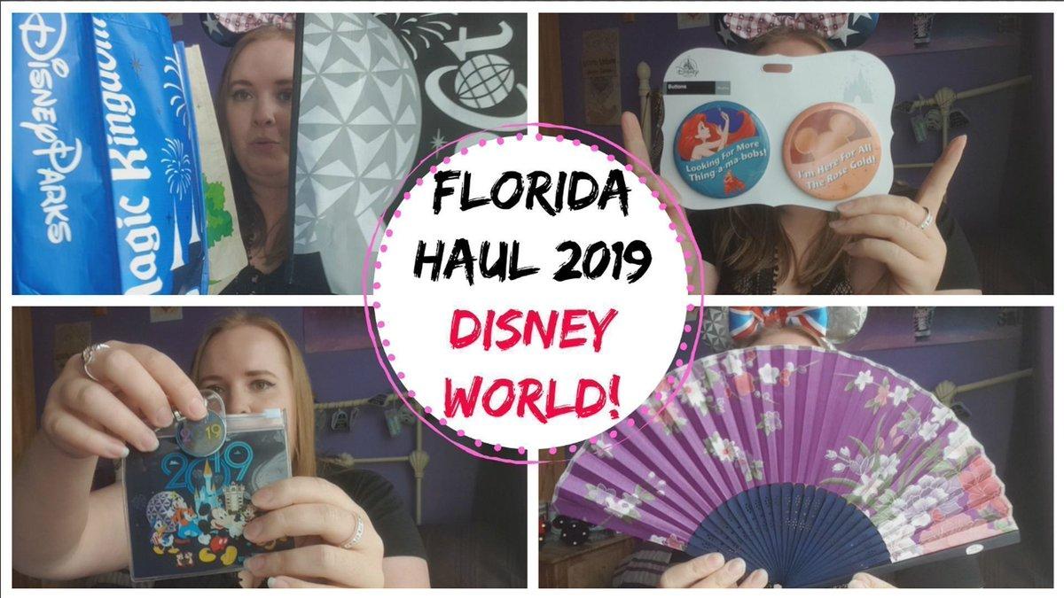 My Florida 2019 Disney Haul! https://t.co/mZZxRbmTFA #DisneyWorldHaul #haul #Disney #Disneyworld #shopping #holiday #vacation #orlando #florida #waltdisney #magickingdom #epcot #AnimalKingdom #hollywoodstudios #WaltDisneyWorld  @TheGirlGangHQ @UKBloggersRT https://t.co/zsupTzt7AA