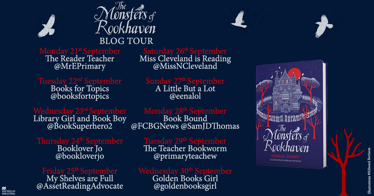 'Pádraig has created a truly extraordinary story filled with a rich darkness and not in the way you would expect.' Read @bookloverJo's review of The Monsters of Rookhaven by @padraig_kenny and an extract from the book in today's blog tour post! https://t.co/5GnjSfwn3c