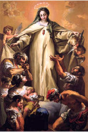 Feast today of Our Lady of Random. Good day to bring her all your sorrows, fears, anxieties and problems. Good day to recommend to her all who afflicted, imprisoned or enslaved, or who otherwise suffer untold misery in this world. https://t.co/PGp8pt91pW