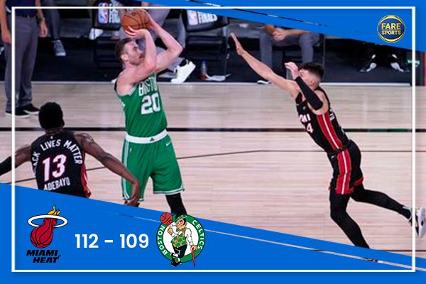 Resultado de la NBA 🏀 Miami Heat vs. Boston Celtics  #NBAPlayoffs #NBA #HEATTwitter #Celtics https://t.co/5CMIzISxi8