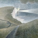 Image for the Tweet beginning: Beachy Head, Eric Ravilious, 1939.