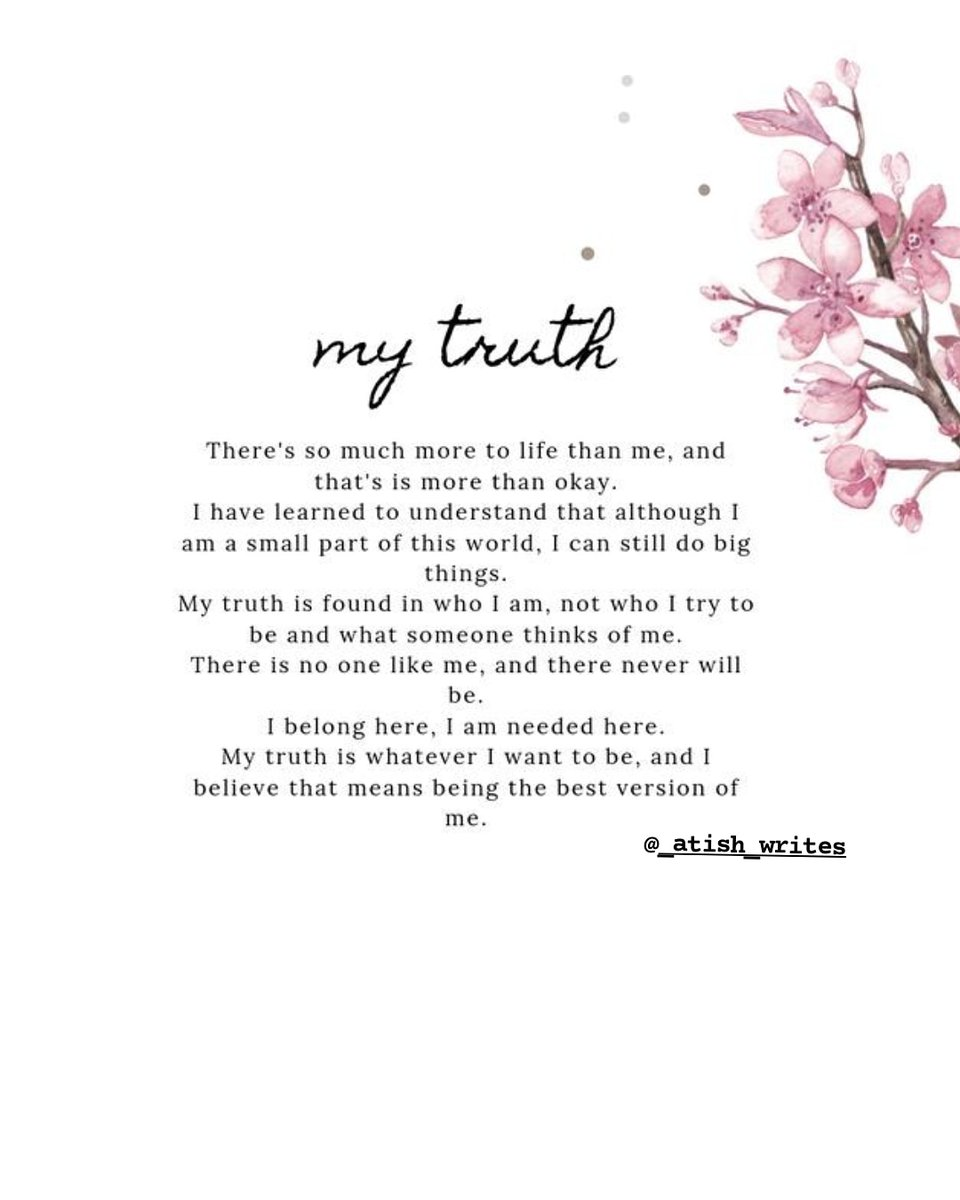 My truth... .#Twitter #Poem #writerslift #WritingCommunity #poetrycommunity #poets #ThursdayMotivation https://t.co/jPswlo0FHt