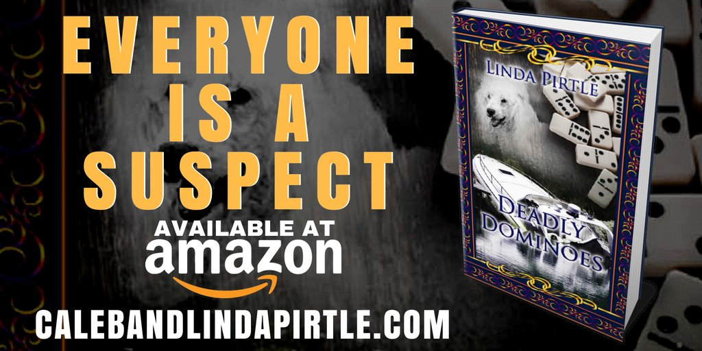 Everyone is a suspect - Deadly Dominoes by @LindaPirtle1 is available at https://t.co/p7SvFUV9F5 #asmsg #iartg #amreading #bookboost #bookplugs #ian1 #puyb #bynr https://t.co/jAeNlYCURc