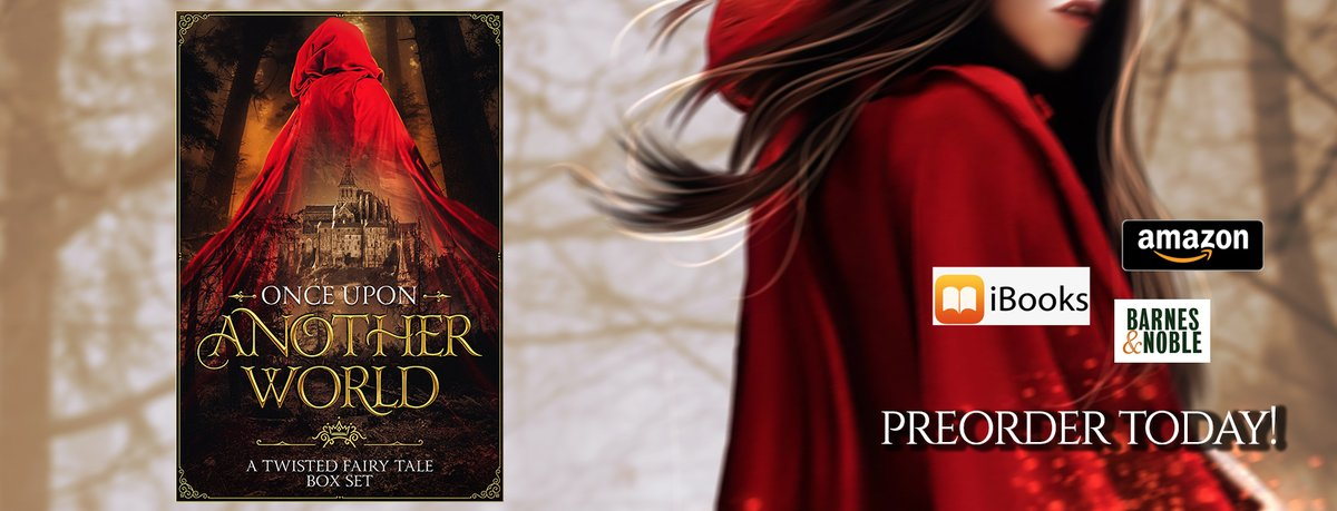 Join us in another world as over 20 of today's most compelling authors bewitch you with new twists to familiar tales.  Grab your #preorder for #99c! https://t.co/4L1tZ9zEdv  #fantasyromance #fairytales #pnr #ebook #amazon #nook #ibooks #amreading #ebook #ouaw @iBooks https://t.co/5tdYFUdCAb
