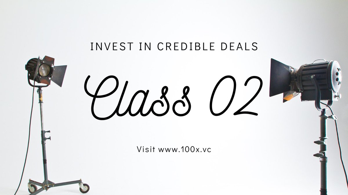 ✅ Investing Simplified ✅  https://t.co/ayZYiBIfIU offers a credible deal flow for startup investors.   To view Class 02 startups visit https://t.co/qtiWabbcCE   #startups #investors #venturecapital #funding #angelinvesting #founders #vcs #entrepreneurs #pitch https://t.co/FgAKx2ILCF