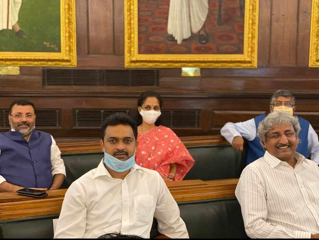 With Ravi Shankar Prasad Ji!  #latepost https://t.co/guEy9ZKbmw