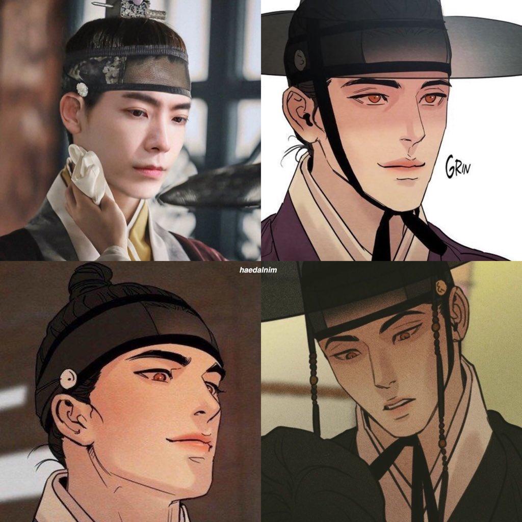 I found a photo of Donghae and he looks like Yoon Seungho in Painter of the night 😯😯😯🥺💖💙  #Donghae #Eunhyuk #Hyukjae #HaeHyuk #HaeEun #SuperJunior #SuperJunior_DnE #DnE #동해 #이동해 #東海 #李東海 #은혁 #혁재 #이혁재 #恩赫 #李赫宰 https://t.co/PSHrkL078e
