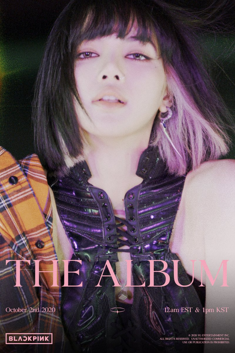 #BLACKPINK'THE ALBUM' LISA TEASER POSTER #2 1st FULL ALBUM 'THE ALBUM' ✅2020.10.02 12am EST & 1pm KST #블랙핑크#LISA #리사#1stFULLALBUM #THEALBUM #TeaserPoster #20201002_12amEST #20201002_1pmKST #Release #YG