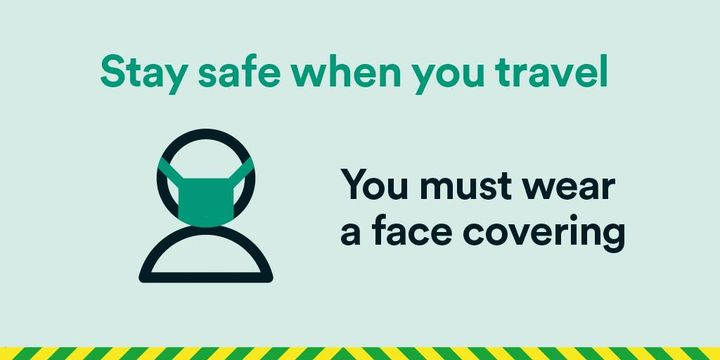 Customers wishing to travel by coach are required by law to wear a face covering throughout the journey. If you are exempt from this, you can request a Stagecoach Journey Assistance card online so you can show the driver that you do not need to wear one > https://t.co/5kd8PjzNbt https://t.co/mX8JbFBS0f