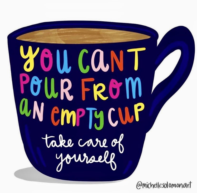 Remember that you can't pour from an empty cup. Take care of yourself! #Wellbeing #selfcare #mentalhealth #MentalHealthMatters #MentalHealthAwareness #mentalhealthliteracy #mentalhealthproblems #mentalhealthisimportant #mentalhealth #mehelp #mehelpindia #Kerala https://t.co/fqOX1QbnKE