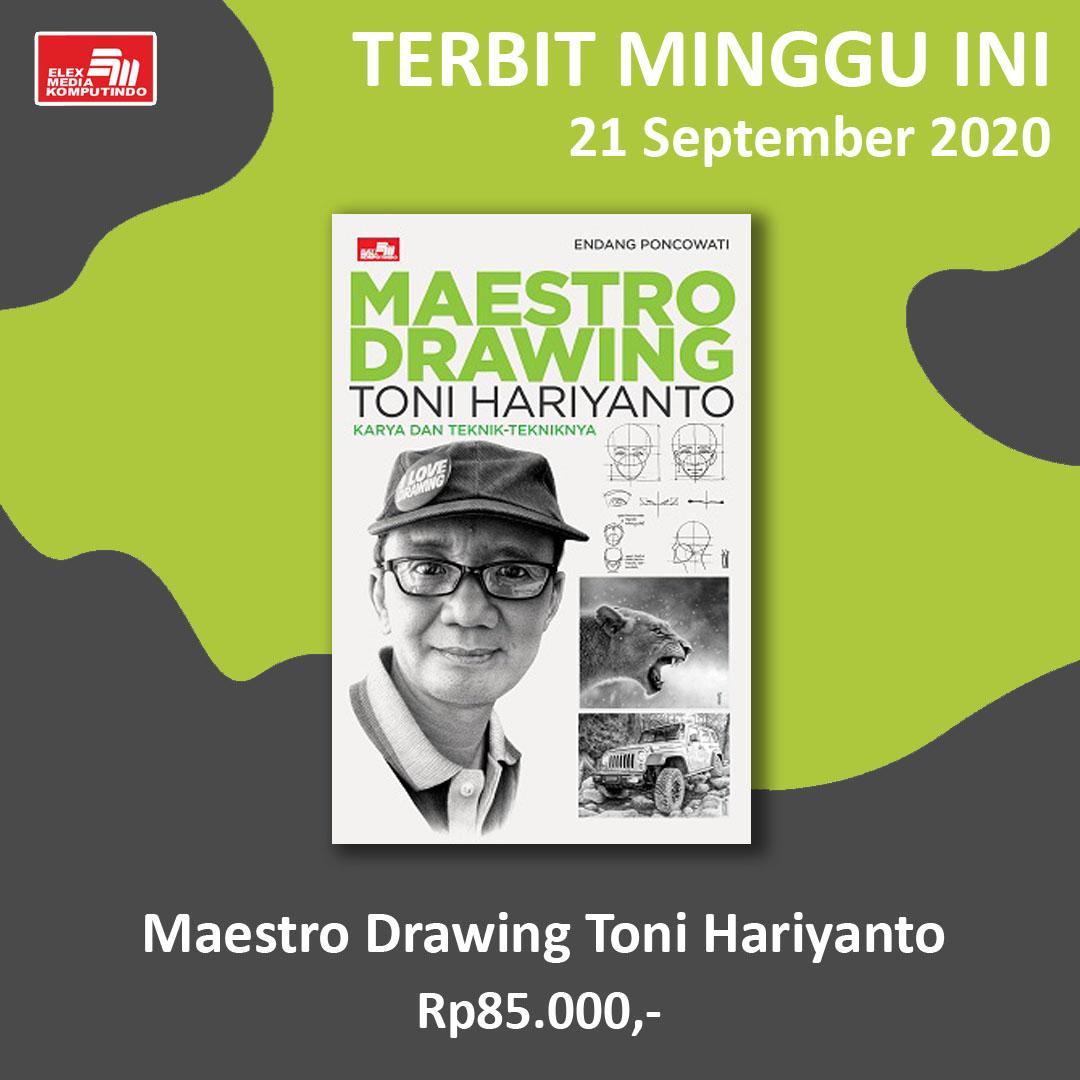 #BukuTerbit: Maestro Drawing Toni Hariyanto  Buku ini diperuntukkan bagi seluruh pelajar maupun pencinta seni yang sedang giat belajar dalam bidang ilustrasi, animasi, desain grafis dan manual drawing. https://t.co/7ZasLVnJET