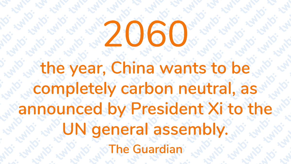 2060 the year, China wants to be completely carbon neutral, as announced by President Xi to the UN general assembly. –   #DailyNumber https://t.co/LpnXNiONiS https://t.co/byWoQpVnhX