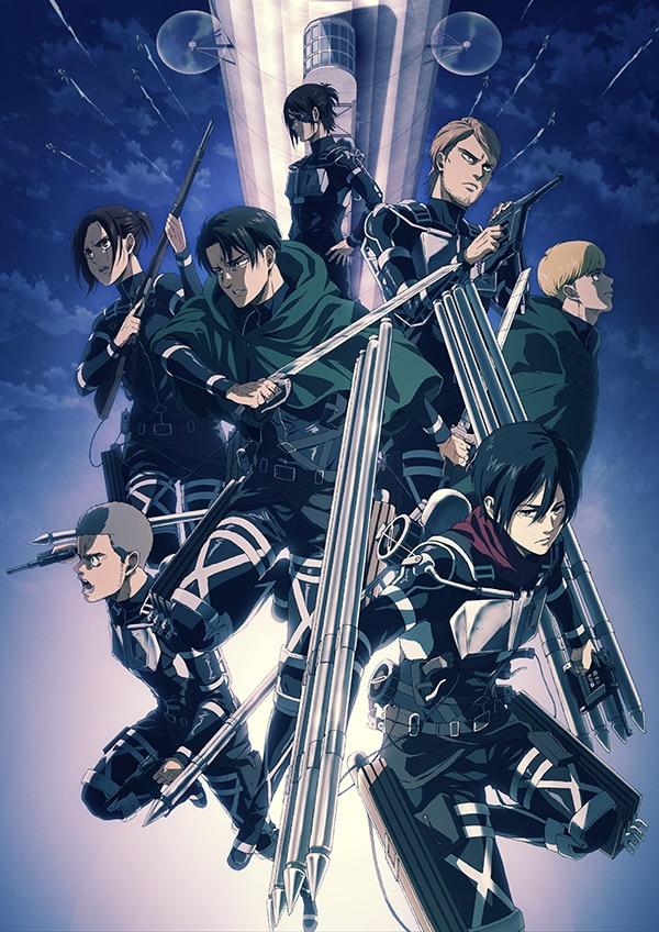 アニメ「進撃の巨人」The Final Season、NHK総合にて12月6日に放送開始 #shingeki
