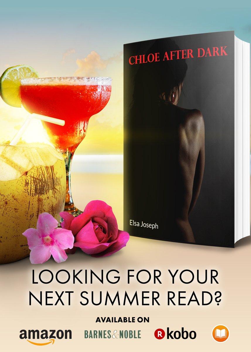 Turn up the heat this summer 🔥 Read Chloe After Dark by Elsa Joseph https://t.co/z57LY8mtzr #book #elsajoseph #chloeafterdark #readers #romance #newbook #goodreads   https://t.co/0qcS7oH4bY https://t.co/JtFn1Whz6M