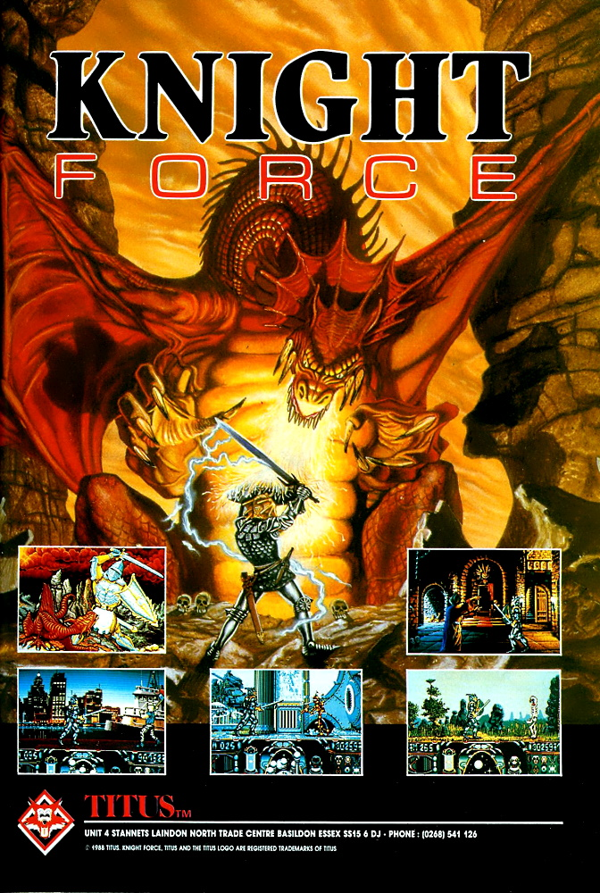 Another title from the infamous Titus France conveyor belt....  Game: Knight Force Media: Magazine advert Year: 1989 Platform: Amiga  Buy this historic game at: https://t.co/2QEracE8Za  #RetroGaming #GamersUnite #Amiga #AmigaRetweets #TitusFrance https://t.co/fHkxAyqiaj
