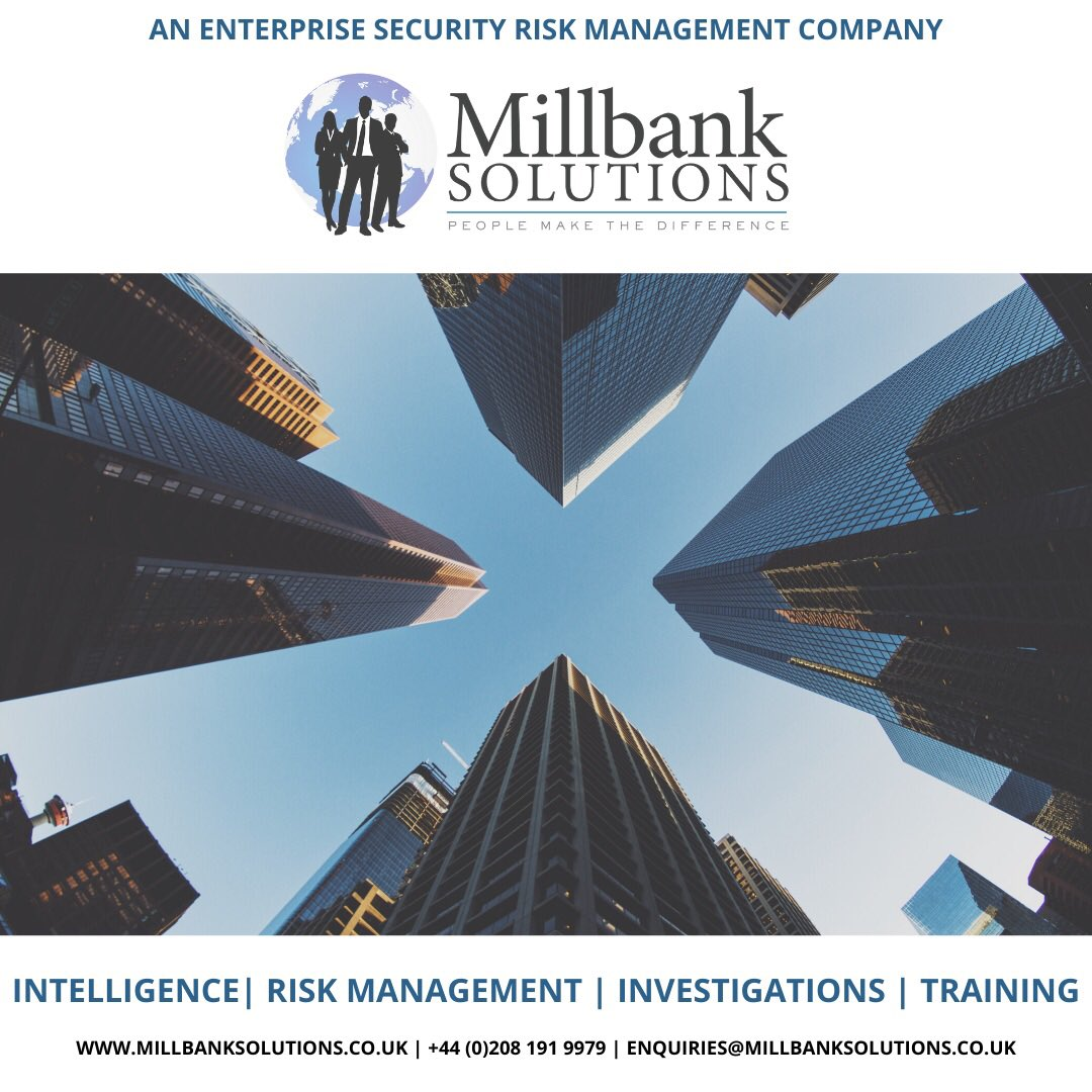 We are a #riskmanagement, #corporateintelligence and #investigations company based in the UK.  We provide credible professional services to companies, organisations and individuals globally.  #lawfirms #lawyers #legalcounsel #HR #CEO #banking #insurance #management #litigation https://t.co/zXT98vmY8A