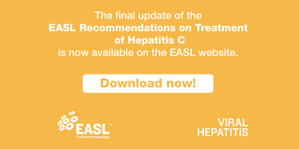 The final update of the @EASLnews recommendations on treatment for #hepatitisC by @JMPawlotsky is now available at https://t.co/4wx63sqhPl. https://t.co/RDOoqSCxSE