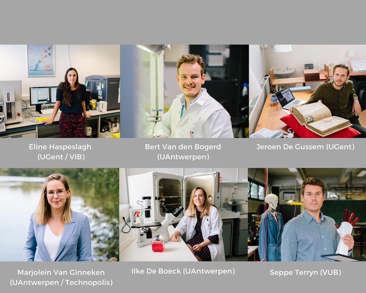De 8 finalisten van de Vlaamse #PhDCup zijn bekend. Maar liefst 6 van hen zijn FWO-ers! Wij kijken alvast uit naar de finale op 6 oktober. Succes aan alle kandidaten! @scriptievzw https://t.co/HdwZFDtM3n