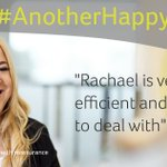 "Image for the Tweet beginning: #AnotherHappyClient: ""Rachael is very efficient"