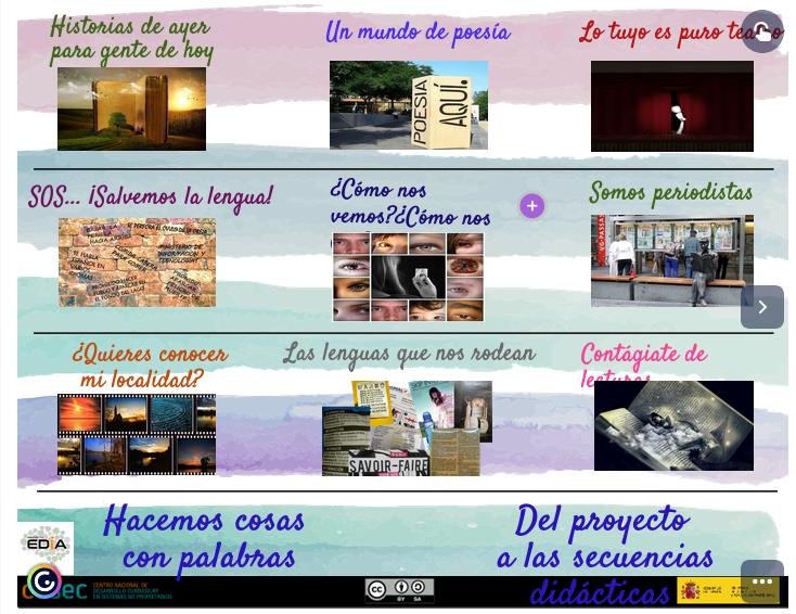 29 secuencias didácticas para #Lengua Castellana y #Literatura a partir de los #REA del #proyectoEDIA, para trabajar comprensión, producción textual y desarrollar contenidos conceptuales sobre educación literaria y reflexión sobre la lengua. https://t.co/ub2Q0l3ZUb | @bloggeando https://t.co/KhtpkX3ANY