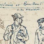 Image for the Tweet beginning: Un dessin de #Rimbaud et