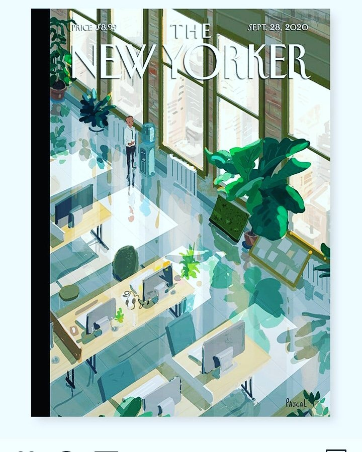 @NewYorker #cover says it all #desolate #officespaces https://t.co/YZtAH6eIbq