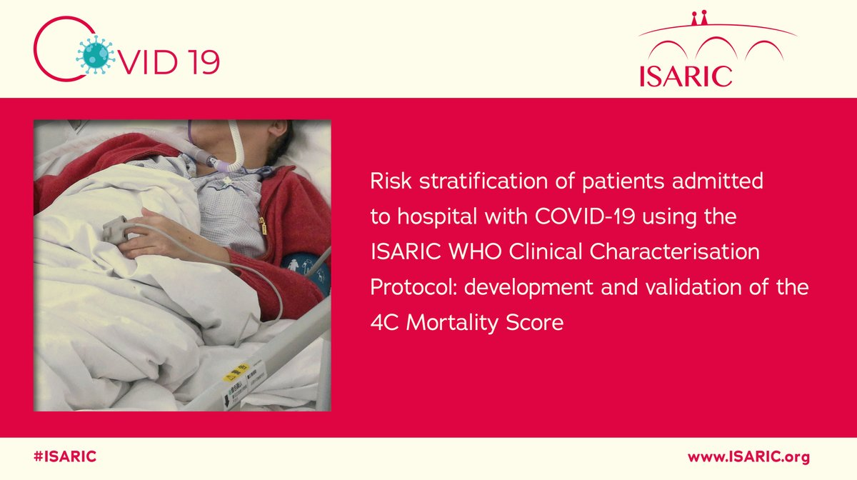 The 4C Mortality Score is a tool that can be used to predict mortality among patients infected with #COVID19, and is available here: https://t.co/ix0ScJ5ZqA   Read: https://t.co/4qwS2jwr6b  @bmj_latest @sr_knight1 @clarkdrussell @kennethbaillie @DrToniHo @annemarie0410 https://t.co/ouaz1TrYCI