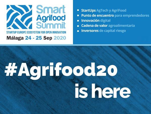 🏆 @agrobialar, un año más, acompañando y comunicando @SmartAgriFoodSu 🚀  Un evento hibrido líder en la creación de ecosistemas innovadores dentro del sector #agroalimentario europeo. ✅  Info: https://t.co/7TZm9Eh8qa 👈   #Agrifood20 #Agtech #Foodtech https://t.co/dxudNvGirX
