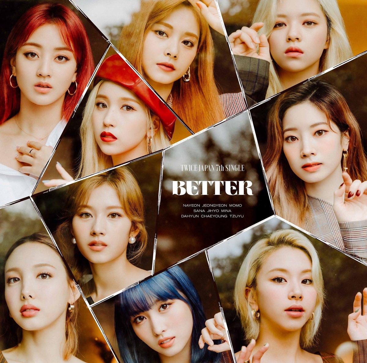 TWICE、新曲「BETTER」11/18に発売🎊 コンセプトは「会いたくても会えない、でもつながってる」\ 📸ジャケット写真も公開❗/各カットに込められた思いとは…✨#TWICE #BETTER @JYPETWICE_JAPAN @JYPETWICE