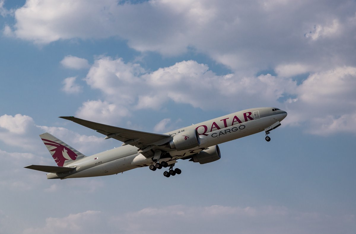We are keeping global economies running with freight carried in the belly of our passenger aircraft and our dedicated fleet of freighter aircraft as we travel around the world carrying essential goods. #QatarAirways #MovedByPeople https://t.co/BuPLKThJyl