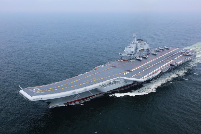 China's two aircraft carriers Liaoning and Shandong recently completed routine exercises and sea trials. The drills aimed to test the equipment's performance and troops' abilities, and boost their capability to carry out missions: Defense Ministry, Thursday (file pics) https://t.co/hwlJnQqKFc