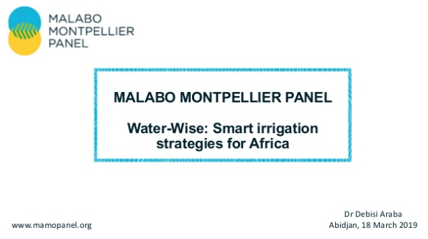 test Twitter Media - #MaMoHighlights   In many countries across Africa, food production continues to be almost exclusively rain-fed. @MaMoPanel member @DebisiAraba spoke to @AfDB_Group about how to remedy this situation based on evidence from our #WaterWise report: https://t.co/nsksUkNtQj https://t.co/3THvbqVoR1