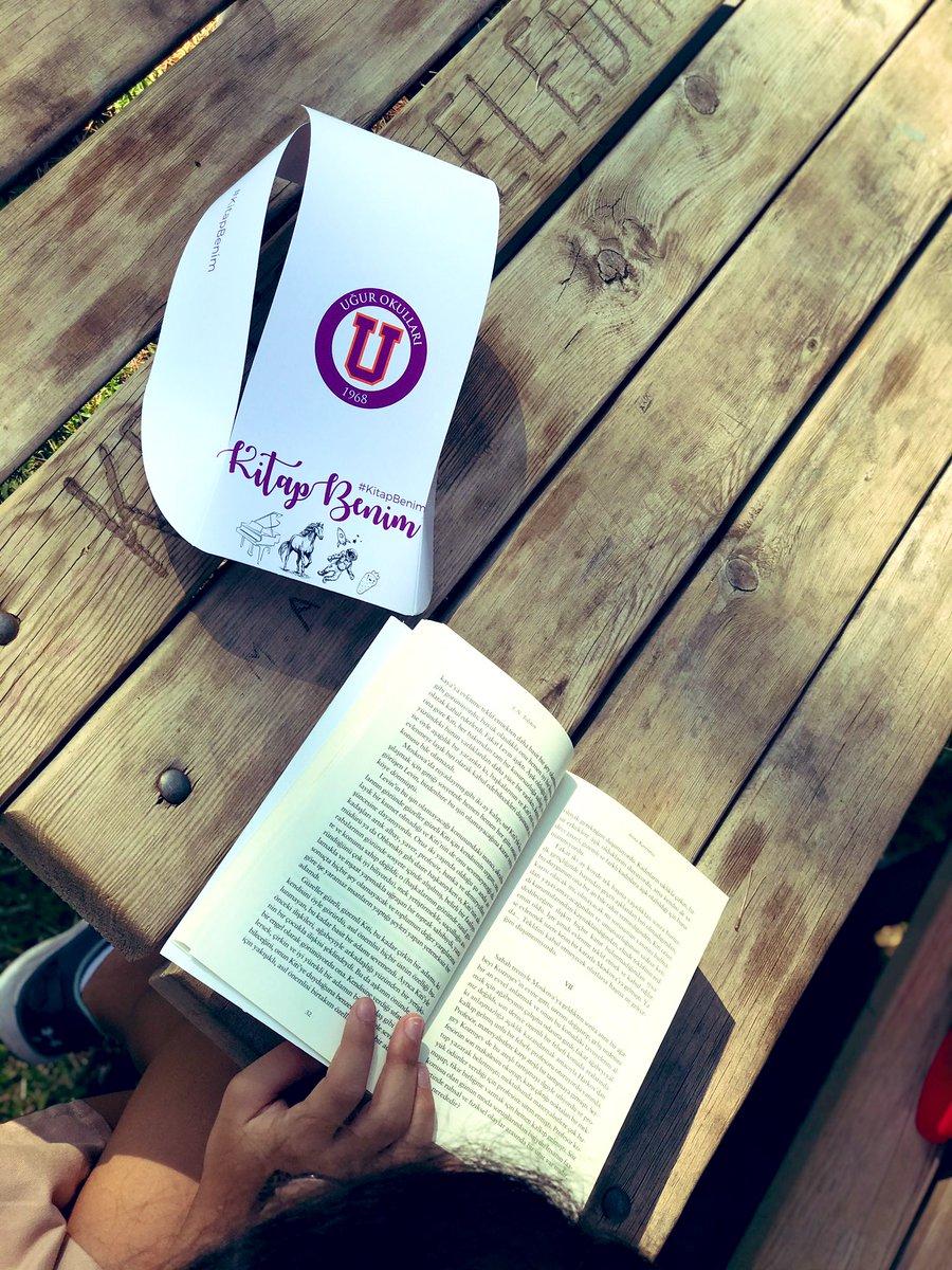 @UgurOkullari  #5Dil2Beceri felsefesi kapsamında uyguladığı #KitapBenim projesiyle bu yıl da Türkiye genelindeki tüm öğrencileriyle kitap sevgisini okul dışına taşıyor! 📚  Ortaokul öğrencilerimiz ile açık havada kitap okuma etkinliğimiz. @nevzatkulaber @nilcicek @barisszgn https://t.co/Gj0eUaxPNK