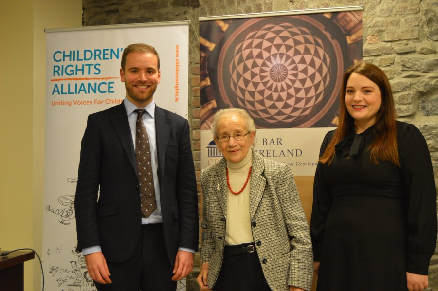 Closing tomorrow! Exciting opportunity for newly-qualified barristers! We are recruiting for the Catherine McGuinness Fellowship on children's rights and child law!   Read more about the fellowship here: https://t.co/9nJn6Uc1Jl  #childrensrights #childlaw  @TheBarofIreland https://t.co/0AdVrxPZUi