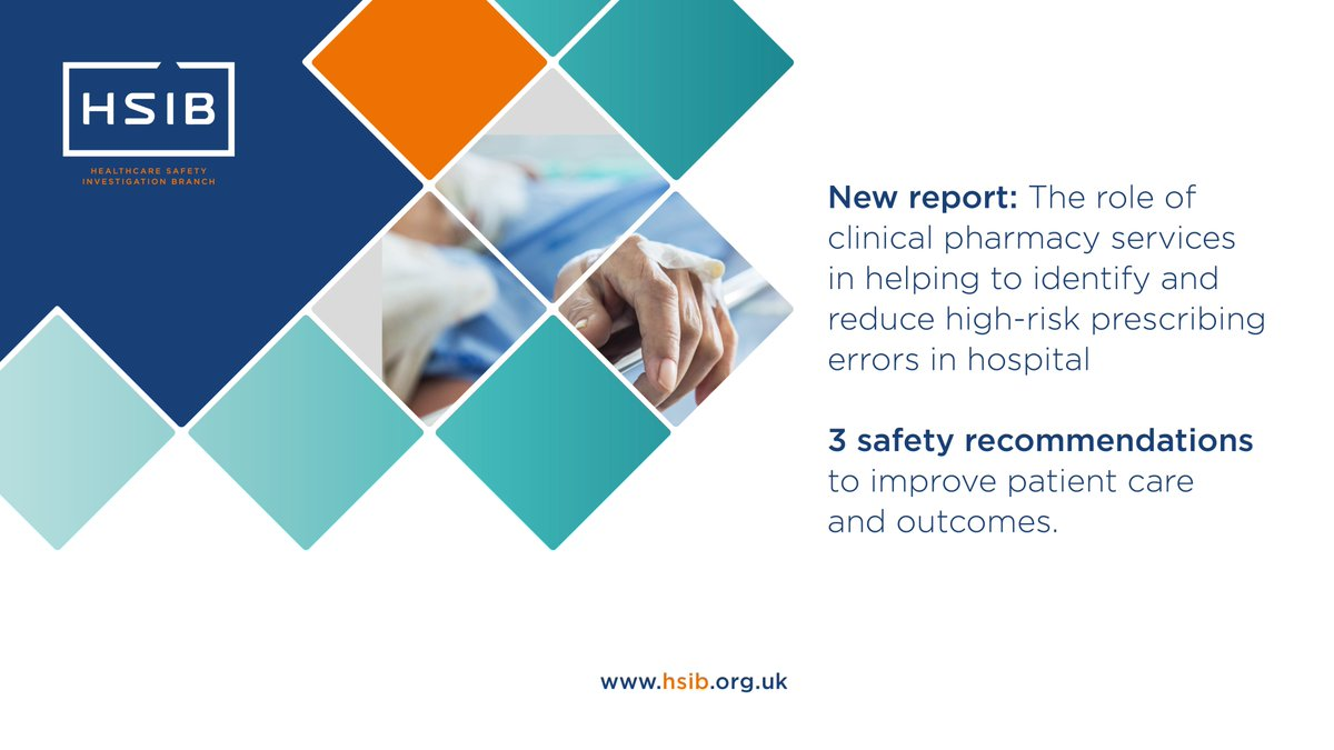 New national report out today. Download it from our website now >> https://t.co/vjKpPt5ysD #patientsafety #clinicalpharmacy https://t.co/cTFlKfKDD7