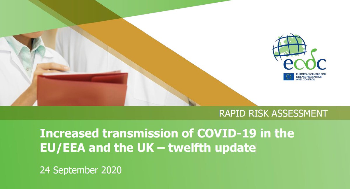 #JustPublished #RapidRiskAssessment Increased transmission of #COVID19 in the EU/EEA/UK – 12th update.  Case notification rates have increased steadily across the EU/EEA/UK since Aug. 2020, but this is not having the same impact in all countries.  Read: https://t.co/PhjD9JHcAL https://t.co/WJzKB9LI7i