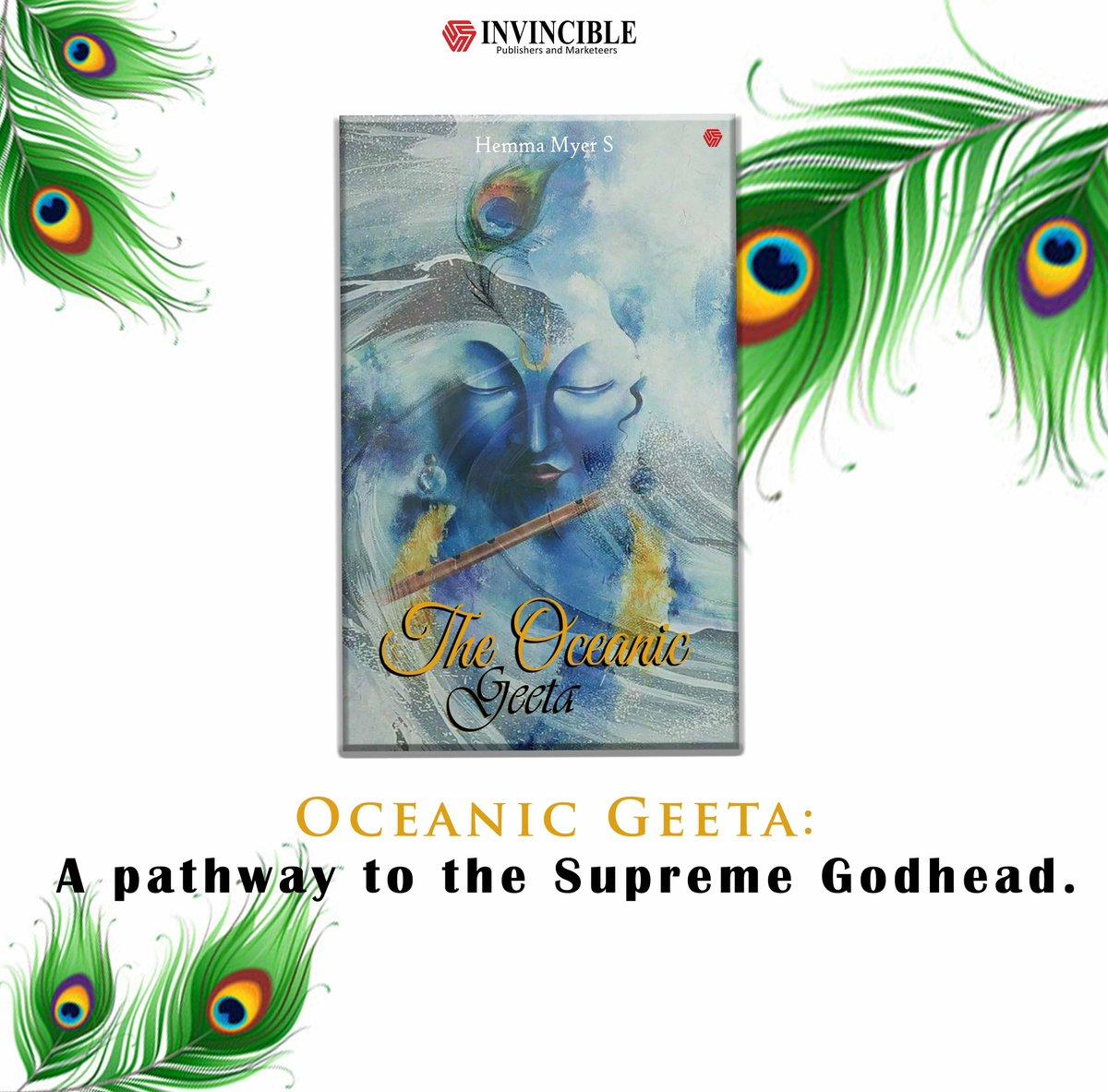 #BhagavadGeeta #Geeta #Ocean #TheOceanicGeeta #EsotericWisdom #Spiritual #Book #Wisdom #Wise #SpiritualGrowth #SpiritualJourney #BeInvincible #Amazon #Book #HemaSood #LordKrishna #Life #MeaningOfLife #World #Readers #Writers Hema Myer Sood https://t.co/QE1x4QCkRz https://t.co/kRznLwPioi