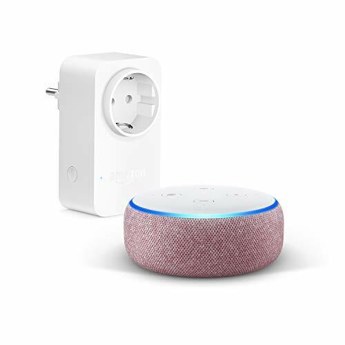 #domotica #enchufeinteligente Echo Dot (3.ª generación), Tela de color malva +Amazon Smart Plug (enchufe inteligente wifi), compatible con Alexa  🚫 ANTES: 84.98€ 🤑 Precio: 54.98€  👇👇👇👇👇👇👇👇 https://t.co/mAM0x7Gtkf https://t.co/kZXRQTRDSM