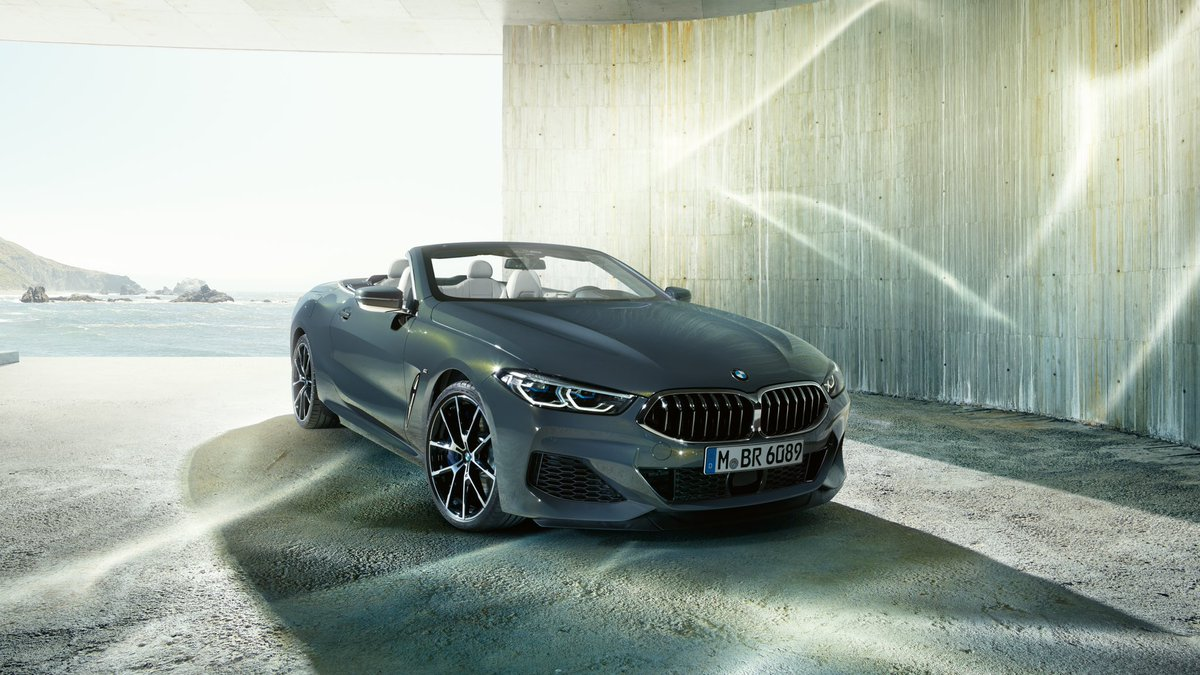 A glitch in the matrix. But a good one. #THE8  The #BMW M850i xDrive Convertible. Fuel consumption (combined): 10.2–10.0 l/100 km. CO₂ emissions (combined): 231–228 g/km. https://t.co/twXzMrWMl3 https://t.co/PzN3dYQXDc