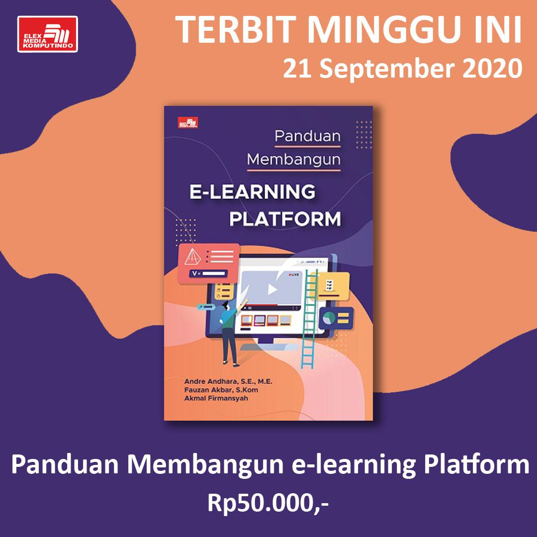 #BukuTerbit: Panduan Membangun E-Learning Platform  Buku ini berisi pembuatan e-learning platform (Moodle) secara lengkap dan urut. Materi disusun untuk memberikan kemudahan bagi pembaca mengaplikasikan dan mendesain fitur yang ada di aplikasi tersebut. https://t.co/tutytuvjfC
