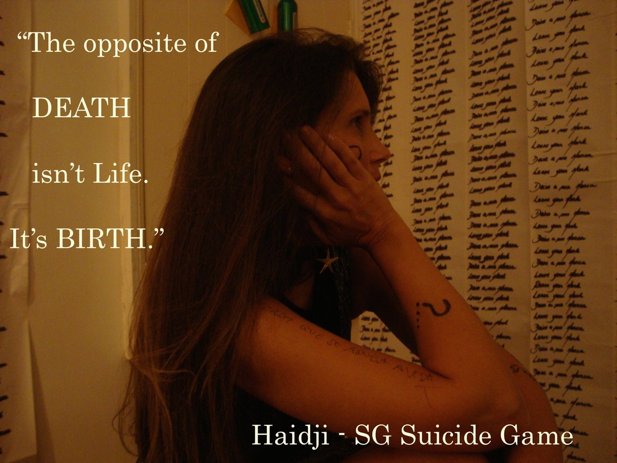 """Book Quote: """"The opposite of death isn't life.  It's birth."""" Click on https://t.co/pf8geXnrCh #life #death #birth #quoteoftheday #quotes #kindleunlimited #bookquotes #read #ebook #ku  #paperback #amazon  #inspiration #haidji   #goodreads #books  #reading #BookBoost #booklovers https://t.co/v5Na0L7q5r"""