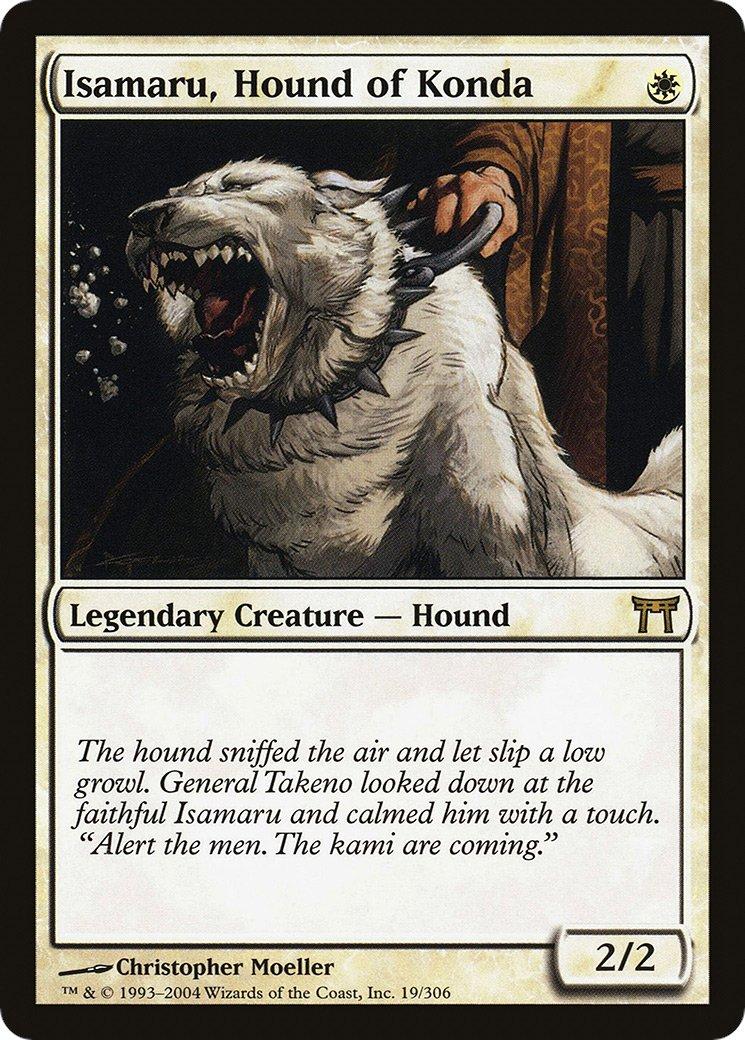 Et qu'ils ont updaté le type de créature du meilleur CHIEN de Magic par la même. https://t.co/xgoHslTBiS