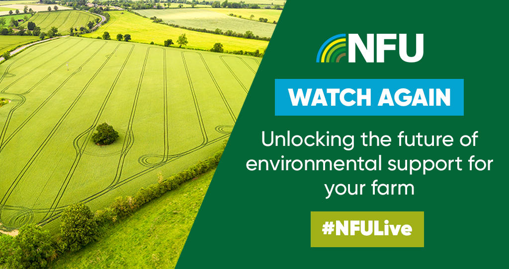 #WatchAgain 🎬 Get all the highlights from yesterday's live Q&A with NFU Vice President @ProagriLtd, NFU Head of Policy Services @BinnyGraham and NFU Senior Countryside Adviser @ClaireR99. NFU members will need to log in ➡️ https://t.co/3yxZARRuKS https://t.co/yohsDxEzWB
