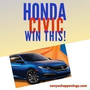 Enter to #win a #Honda #Civic ($21,000 ARV) ~ #sweeps ends 10-10-20  #winacar #hondacivic https://t.co/ANpZlLcTCm https://t.co/7oLgxDAQgd