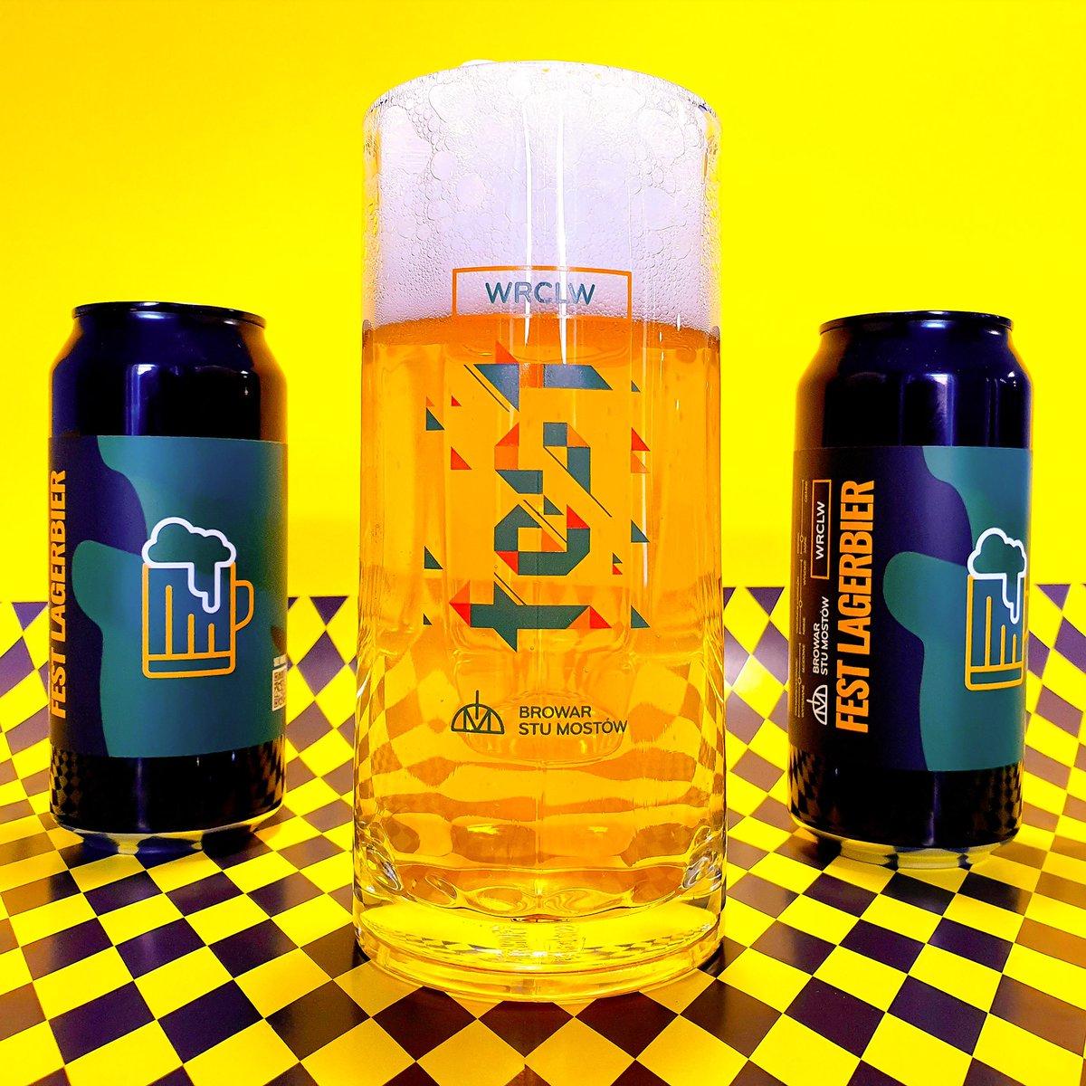 Już tylko 2 dni do wyczekiwanej premiery #WRCLW Fest Lagerbier i pierwszej edycji #WRCLWFest!  #BeerFest #BeerRelease #Beer #NewBeer #Piwo #PiwoKraftowe #Wroclaw #PiwnyWroclaw #Wroclove #Oktoberfest #Lager #Festbier https://t.co/52uxEedx4A